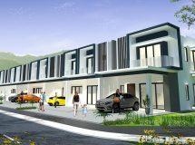 Taman Warisan Putra – Fasa III (Double Storey House)